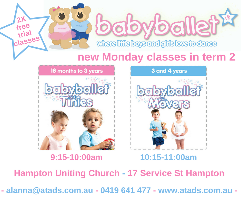 new monday classes in term 2