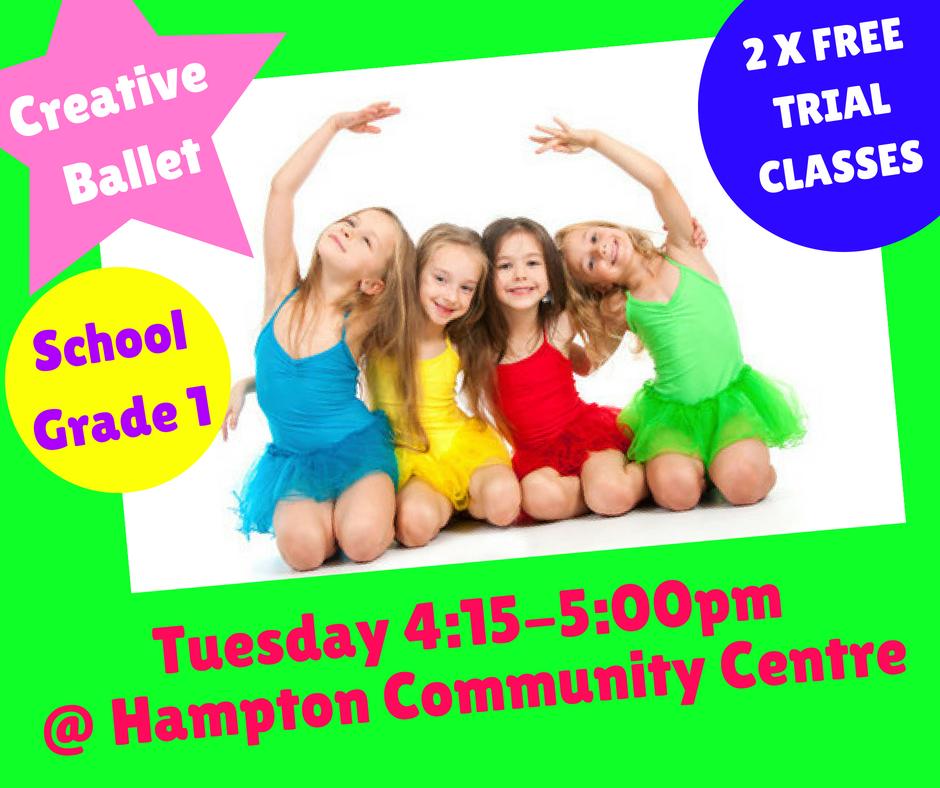new class grade 1 ballet 1