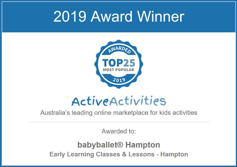 ActiveActivities Most Popular 2019 Award