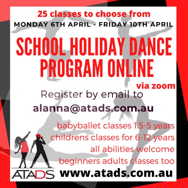 School holiday program online