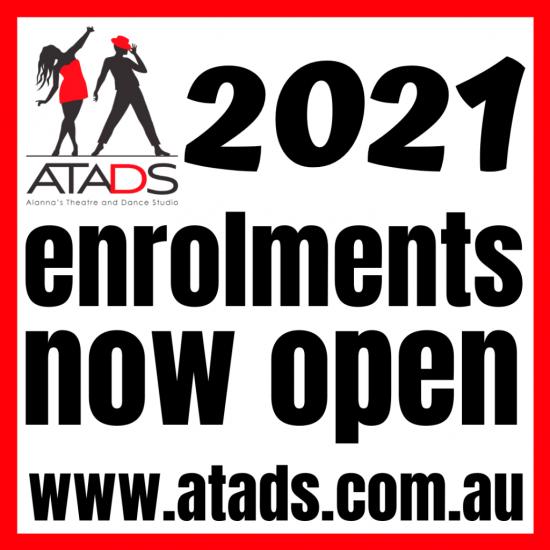 atads enrolments now open 2020