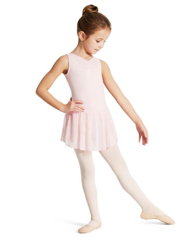 capezio_pinch_front_tank_dress_girls_pink_11309c_l