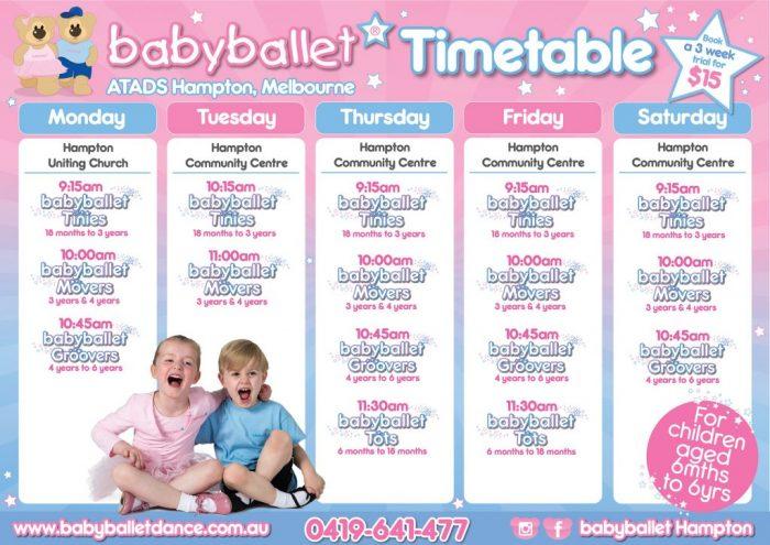 timetable atads
